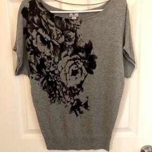 Worthington Rose Sweater Top